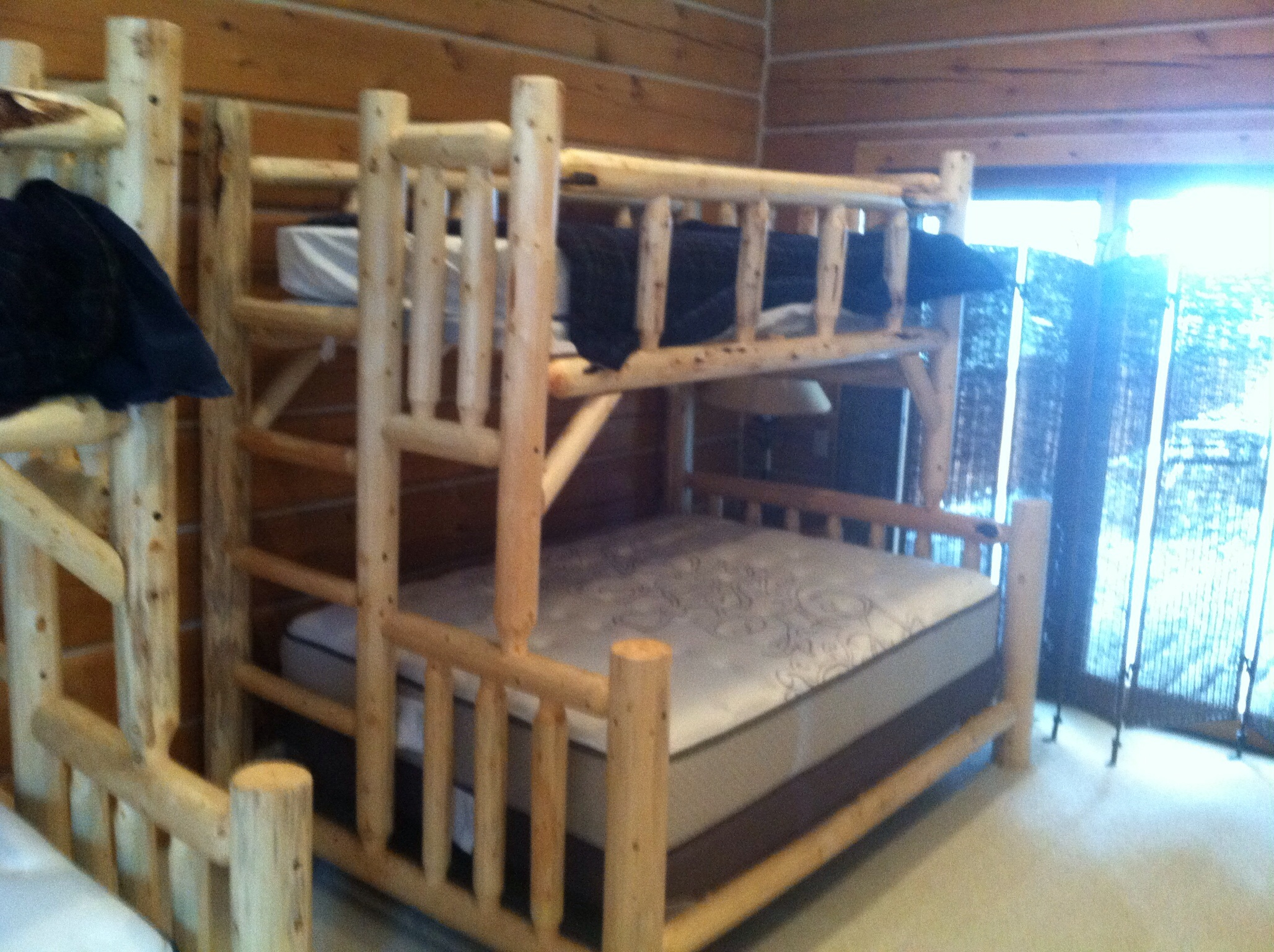 adult bed for image super arizona log bunk beds strong