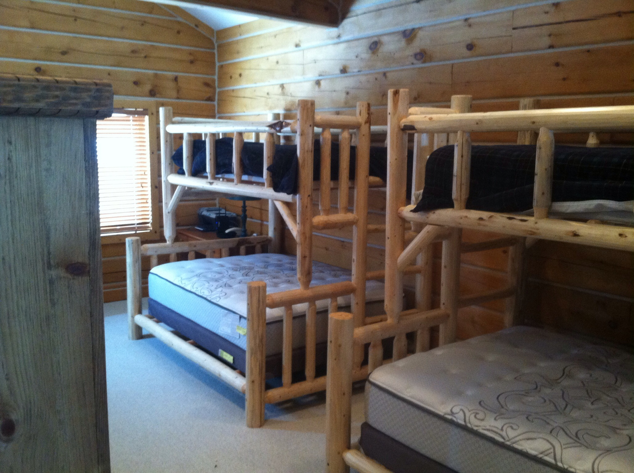 Arizona adult log bunk beds adult strong bunk beds for Adult loft bed